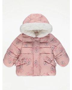 """Тепла куртка з плюшевою підкладкою """"Minnie Mouse"""" для дівчинки"""