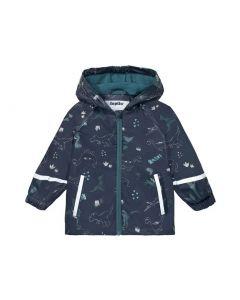 Стильна курточка-дощовик з флісовою підкладкою для хлопчика