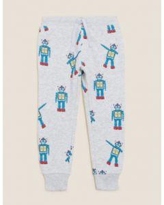 Трикотажні штани на флісі для дитини