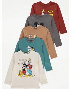 "Трикотажний реглан для дитини ""Mickey and crew"" 1шт. (молочний)"