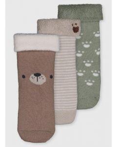 Набір шкарпеток (3 пари) з махровою ниткою всередині для хлопчика
