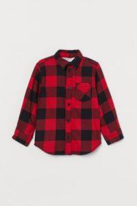 Фланелева сорочка для хлопчика від H&M