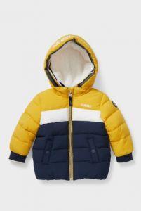 Тепла курточка з плюшевою підкладкою для дитини