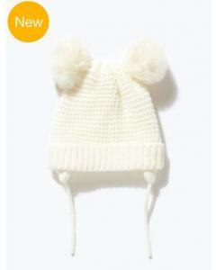В'язана шапка для дівчинки