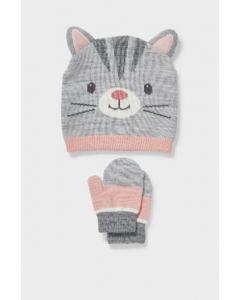 Набір (шапка і рукавички) для дівчинки
