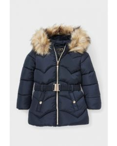 Тепла куртка для дівчинки