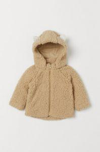 Плюшева курточка-жакет для дівчинки