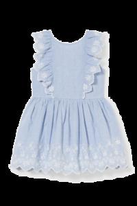 Бавовняне плаття для дівчинки