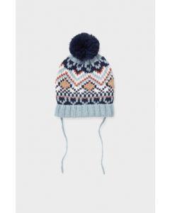 Тепла шапка на флісовій підкладці для дитини