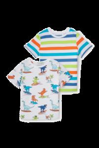 Набір футболок 2 шт.  для хлопчика з органічної бавовни