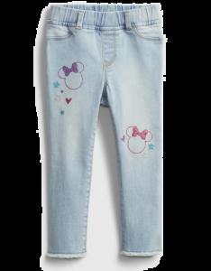 """Джегінси """"Minnie Mouse"""" для дівчинки"""
