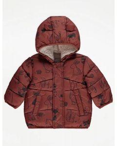 Зимова куртка з плюшевою підкладкою для малюка