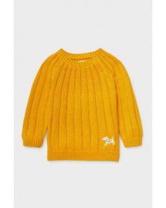 Яскравий светр для дівчинки