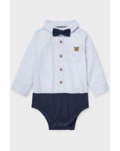 Боді-сорочка з органічної бавовни для дитини