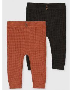 Трикотажні штанятка тонкої в'язки для дитини 1шт.(темно-сірі)