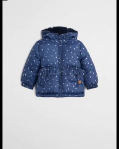 Тепла куртка-анорак з флісовою підкладкою для дівчинки