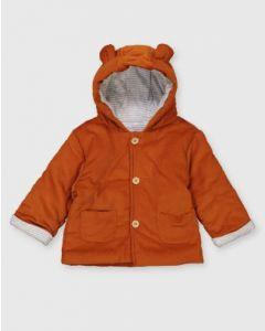 Вельветова куртка з синтепоновим наповнювачем для дитини