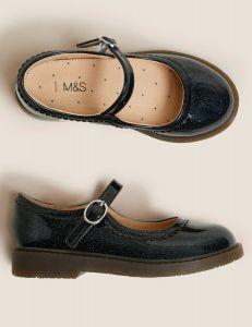 Лаковані туфлі в стилі Мері Джейн для дівчинки