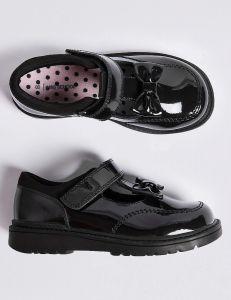 Лакові шкіряні туфлі для дівчинки