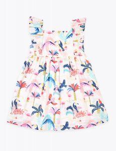 Легке котонове плаття для дівчинки