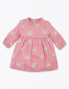 Коттонове плаття для дівчинки від Marks&Spencer Kids