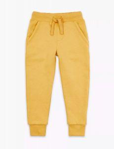 Трикотажные штанишки с флисовой байкой внутри