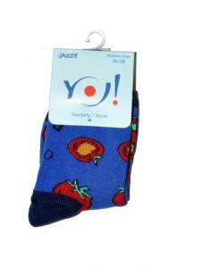 """Шкарпетки для дитини """"помідори"""", YOclub SK-06G"""