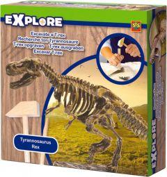 """Набір серії """"Дослідник"""" - Розкопки скелета тиранозавра, SES Creative 25028S"""