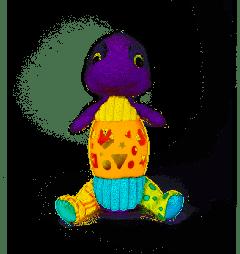 """М'яка інтерактивна іграшка """"Динозаврик Бенді"""" Balibazoo 80203"""