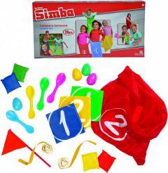 """Ігровий набір """"Весела вечірка"""" (19 ел.), Simba 107300278"""