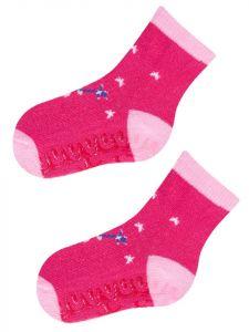 Шкарпетки для дівчинки темно-рожеві (фея), YOclub  SK-10