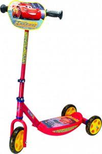 """Дитячий самокат триколісний """"Cars"""", Smoby 750154"""