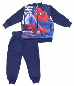 """Теплий костюм для хлопчика """"Spiderman""""(синій), Sun city SP S 52 12 565 U1"""