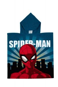 """М'який рушник-пончо """"Spider-Man"""" з мікрофібри (55х110см), SP S 52 46 1256"""