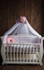 Комплект для ліжечка, БК-048, DC Kids