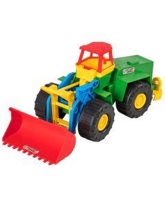 Іграшковий екскаватор, Wader 39212 (зелений)