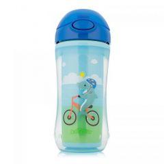 Чашка-термос з трубочкою (блакитний), 300 мл, Dr. Brown's TC01003/1-INTL