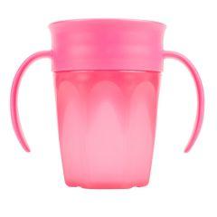 Чашка 360 ° з ручками (рожева), 200 мл, Dr. Brown's TC71003-INTL