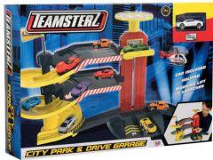 """Трек """"Teamster"""" Багаторівнева парковка з машинкою, Hti Toys 1416652"""