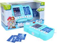 """Ігровий набір для лікаря """"Медичний рентген, кардіо, світло, звук"""", Tegole D1511A"""