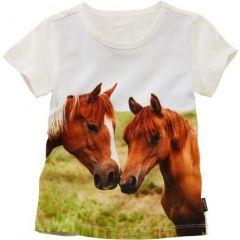 "Трикотажна футболка ""Коники"" для дитини, 30094"