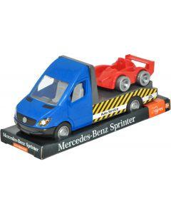 """Автомобіль """"Mercedes-Benz Sprinter"""" евакуатор на планшетці, Tigres 39709"""