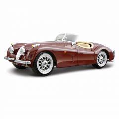 Автомодель -  JAGUAR XK 120 (1951) (1:24, вишневий), BBURAGO 18-22018