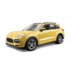 Автомодель - PORSCHE Cayenne Turbo (1:24, жовтий), BBURAGO 18-21056