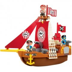 """Конструктор """"Корабель з піратами"""", Ecoiffier 003023"""