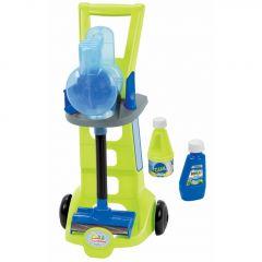 """Ігровий набір """"Візок для прибирання з вертикальним пилососом"""", Ecoiffier 001761"""