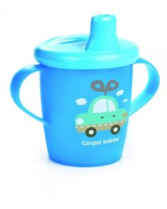 Чашка-непроливайка, Canpol babies 31/200 (блакитна)