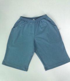 Трикотажні шортики для дитини (сині), Б-192419 Mokkibym