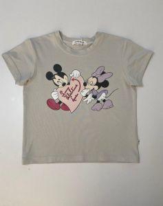 """Трикотажна футболка для дівчинки """"Mickey&Minnie"""", Ф-319199 Mokkibym"""