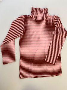 Трикотажний гольф для дитини (червоний в полоску), 333987 Mokkibym